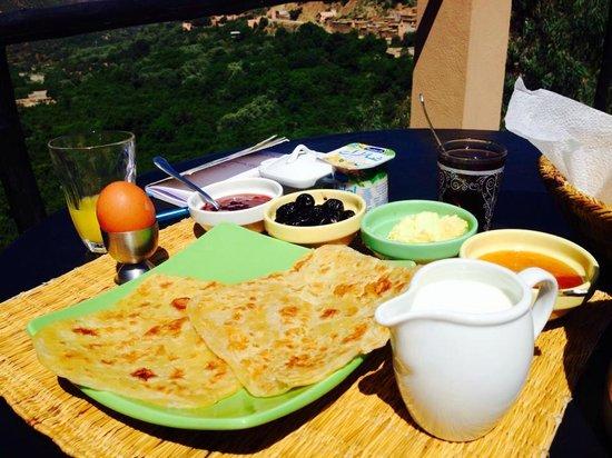 Kasbah Africa: breakfast