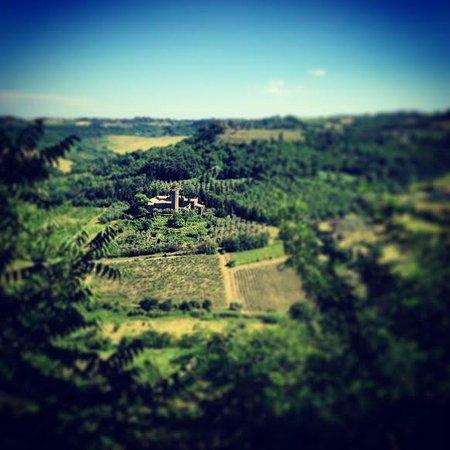 La Badia di Orvieto: View from Orvieto