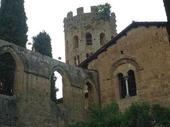 La Badia di Orvieto: View from the restautrant