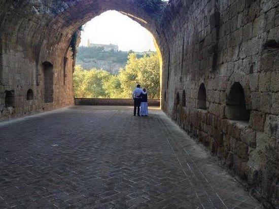 La Badia di Orvieto: Outside chapel