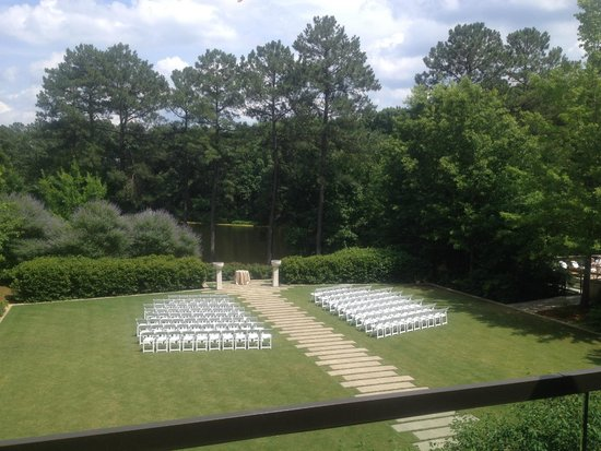 The Umstead Hotel and Spa: Setup for a beautiful wedding