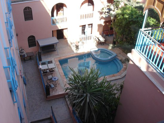 Riad Imourane : View from the terrace
