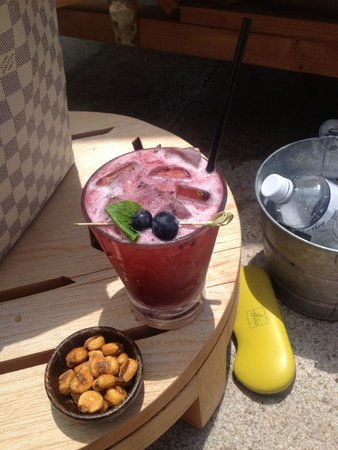 The Umstead Hotel and Spa: Blackberry Mojito