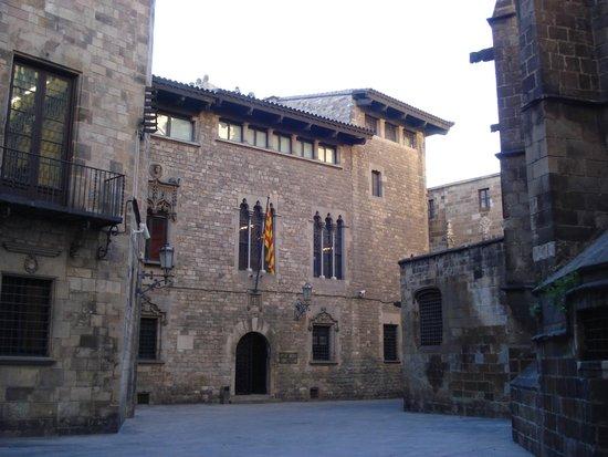 Gothic Quarter (Barri Gotic): Endroit typique