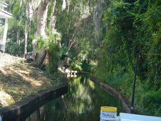 Scenic Boat Tour : Canal view