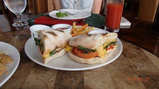 Hotel Belmar : Verry good sandwiches
