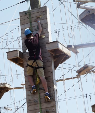 Rise and Climb Adventure Course: climb to the next level