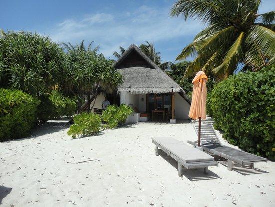 LUX* South Ari Atoll: Our beach villa