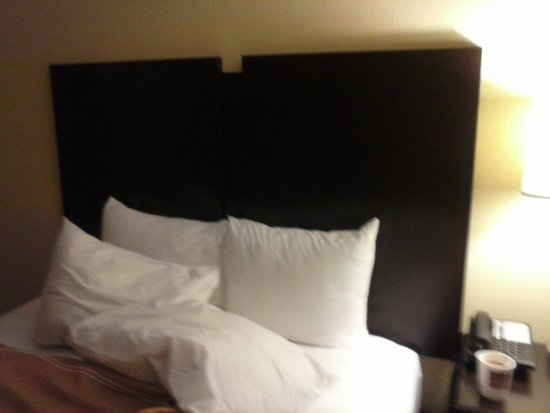 Comfort Suites Altoona: Bed was updated and comfortable