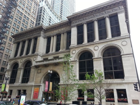 Chicago Cultural Center: Building Front