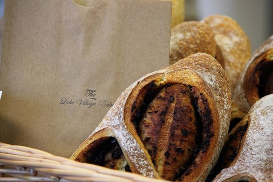 The Lake Village Bakery: Organic Sourdough Olive Bread