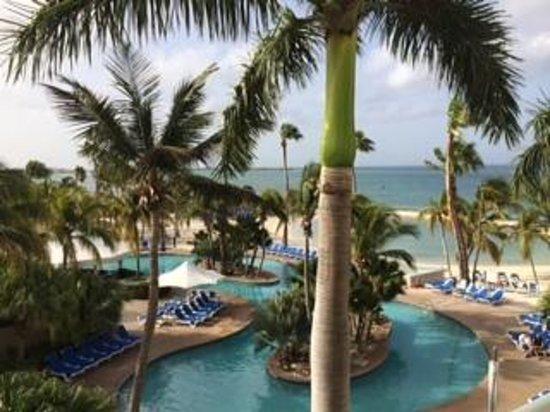 Renaissance Aruba Resort & Casino: Ocean Suites view