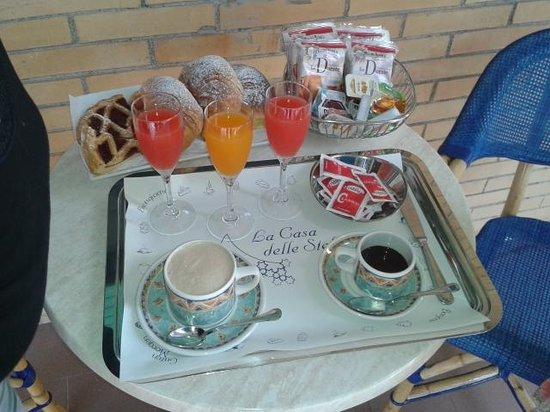 La Casa delle Stelle: colazione in terrazza