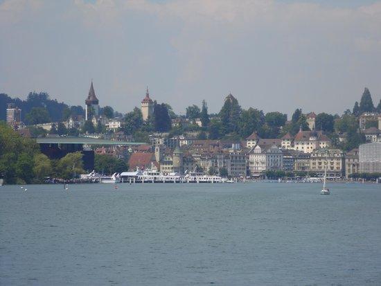 Lake Luzern: Lucerne from the Lake