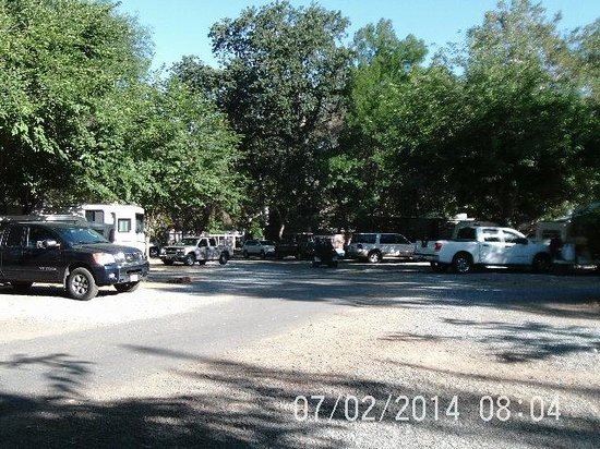 Sequoia RV Ranch: RV Sites in trees