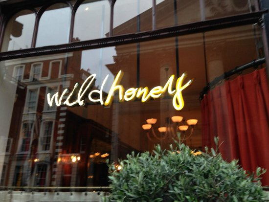 Wild Honey: Eat something wild here!