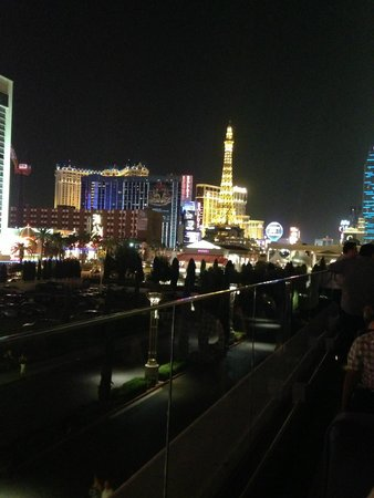 PURE Nightclub : The view from our table