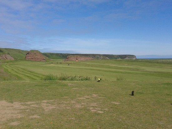 Cullen Golf Club: 2nd tee (looking at back nine)