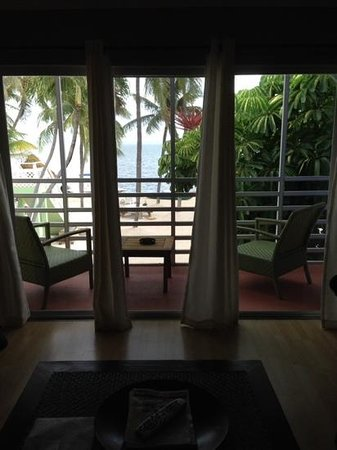 Drop Anchor Resort: View from Room 8.