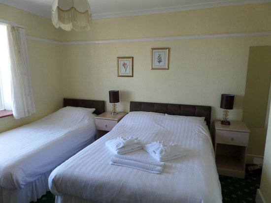 Eastmount Hall Hotel: Our Room