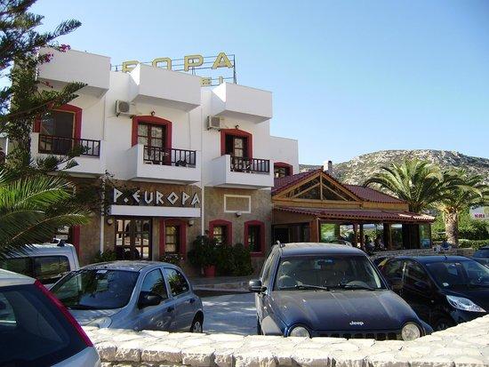 Princess Europa Hotel: Hotel building