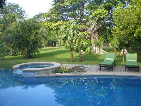 Hacienda JJ: Paradise around the pool
