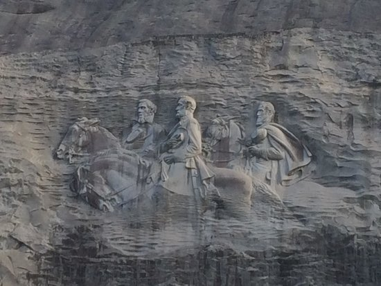 Stone Mountain Carving: July 2014