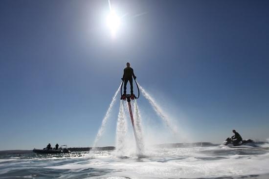 Centara Grand Beach Resort Samui : fly boarding