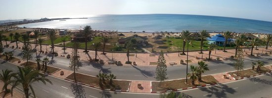 Medina Solaria & Thalasso : View from our room.