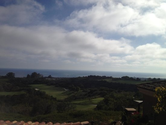 The Resort at Pelican Hill : View from the bedroom window
