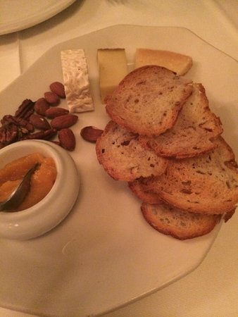 Restaurant Laloux: Cheese course