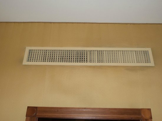 The Westin Excelsior, Rome : dirty air vents
