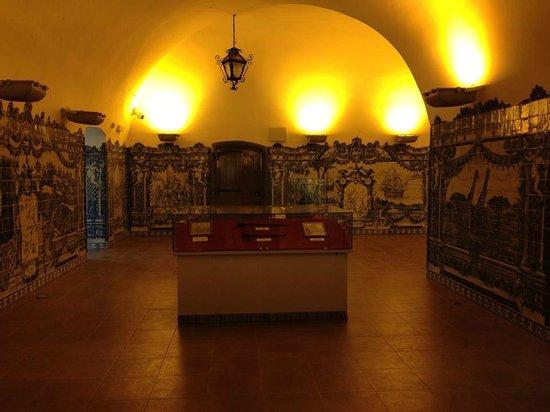 National Slavery Museum: Um dos corredores