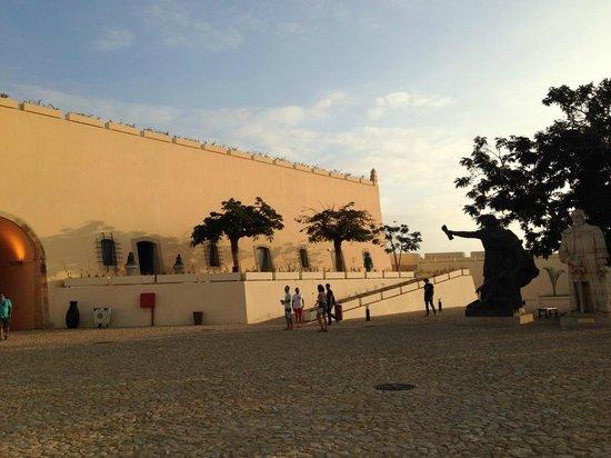 National Slavery Museum: Pátio interno 2