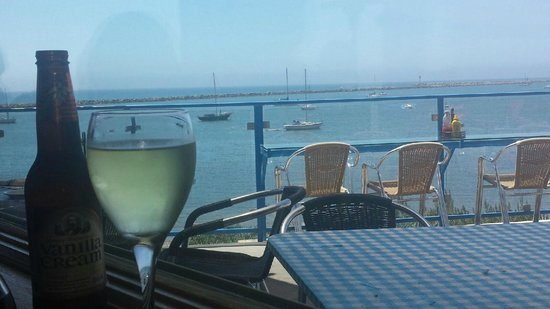 Sam's Chowder House: View from our table