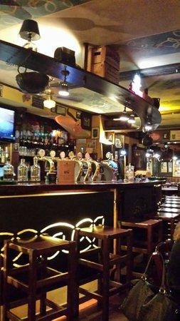 Morrigan Pub: Bancone