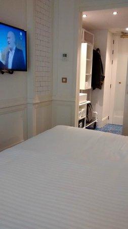 Hotel Praktik Bakery: desde  la confortable cama!!!!!