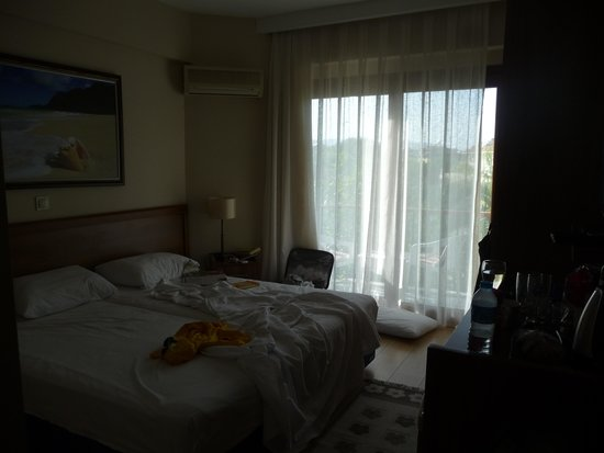 Crescent Hasirci Hotel & Villas: our room.