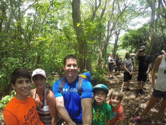 Outfitters Kauai: selfie on the trail