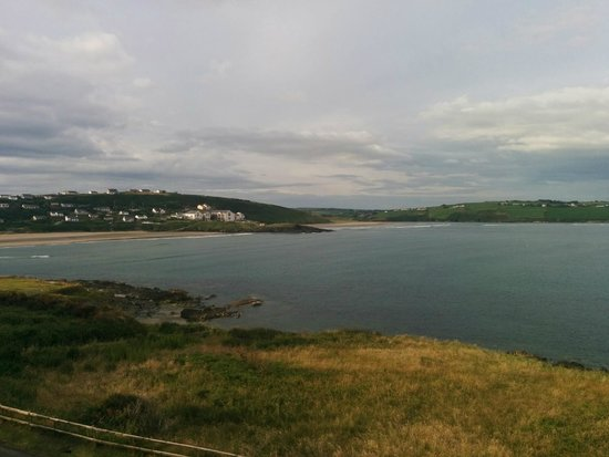 Dunmore House Hotel : Veiw down to the beach