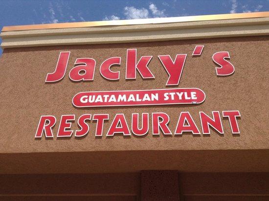 Jacky's Restaurant: Jacky's