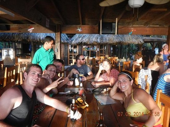 Bananarama Beach and Dive Resort: Our New Friends