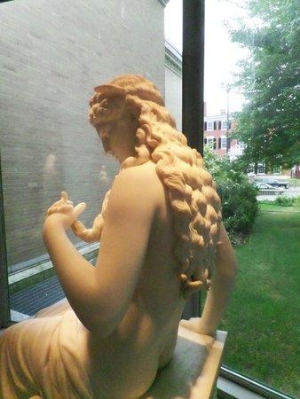 Portland Museum of Art: Medusa statue
