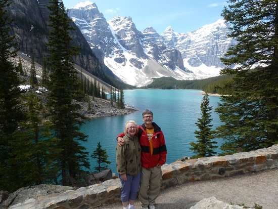 Moraine Lake: Happy to be here