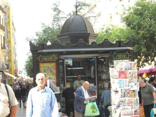 Cours Lafayette : il mercato