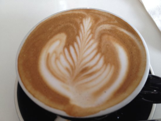 Third Place Cafe: excellent Flat White coffee