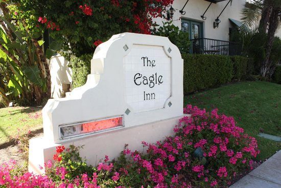 The Eagle Inn sign