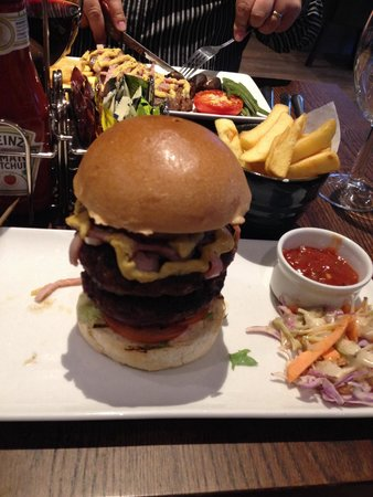 Premier Inn Manchester Old Trafford Hotel : Fantastic food!