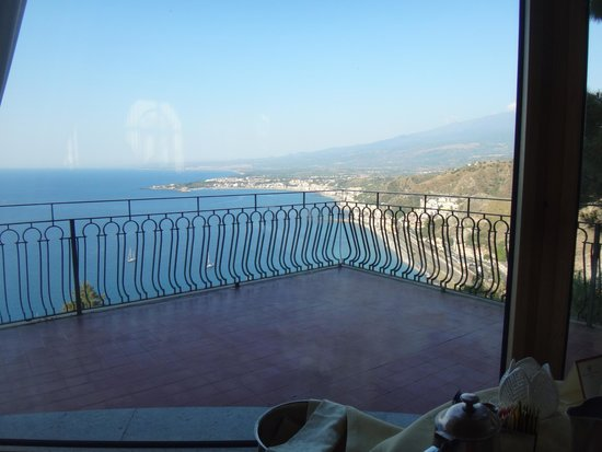 Hotel Villa Diodoro: View from breakfast
