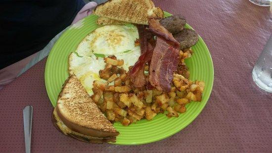 Ramsey's Diner: ramsey's breakfast